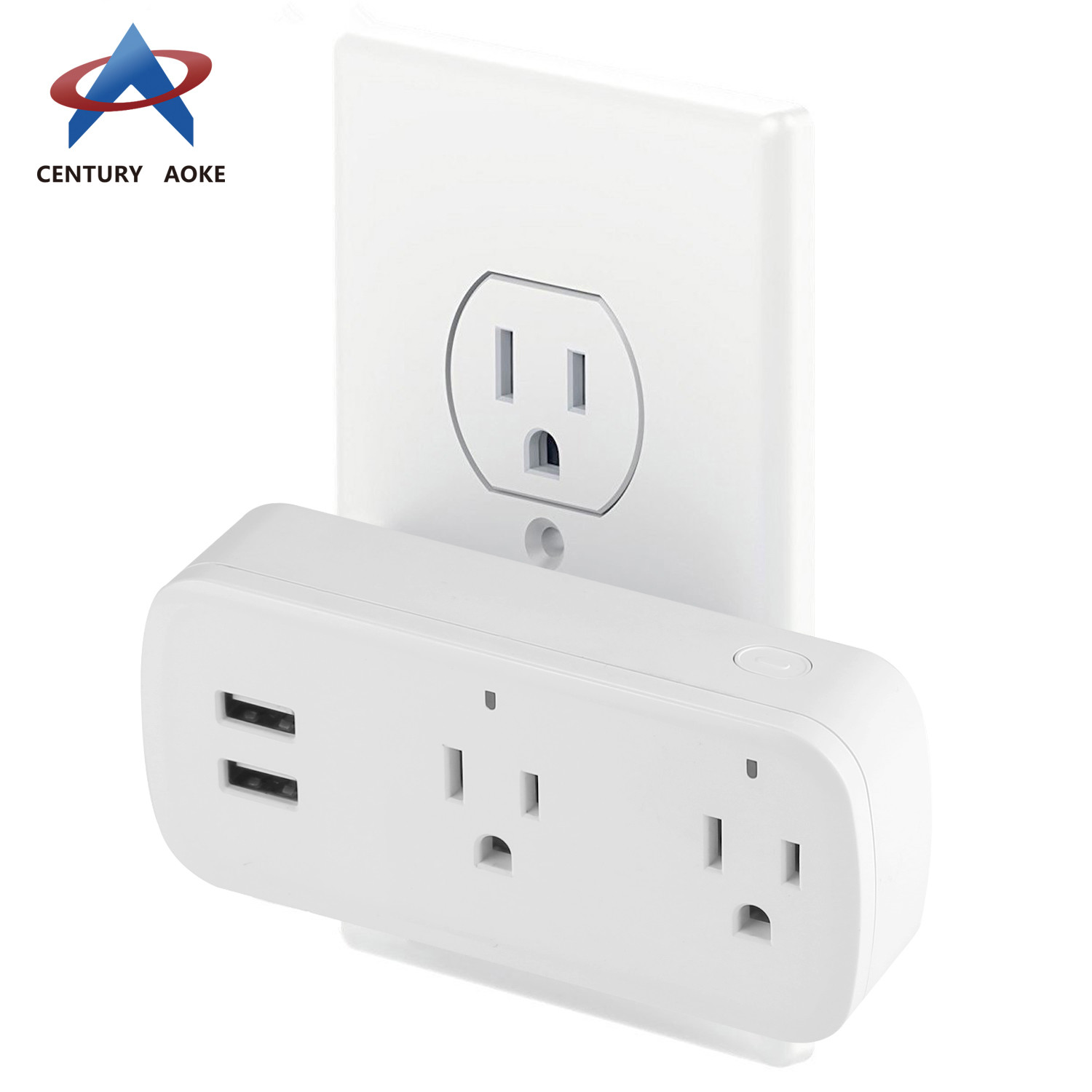 US smart socket best smart outlet AK-P22W-01F