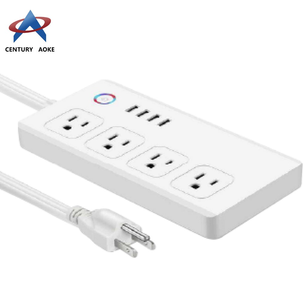US smart socket smart power plug AK-P24W-01F