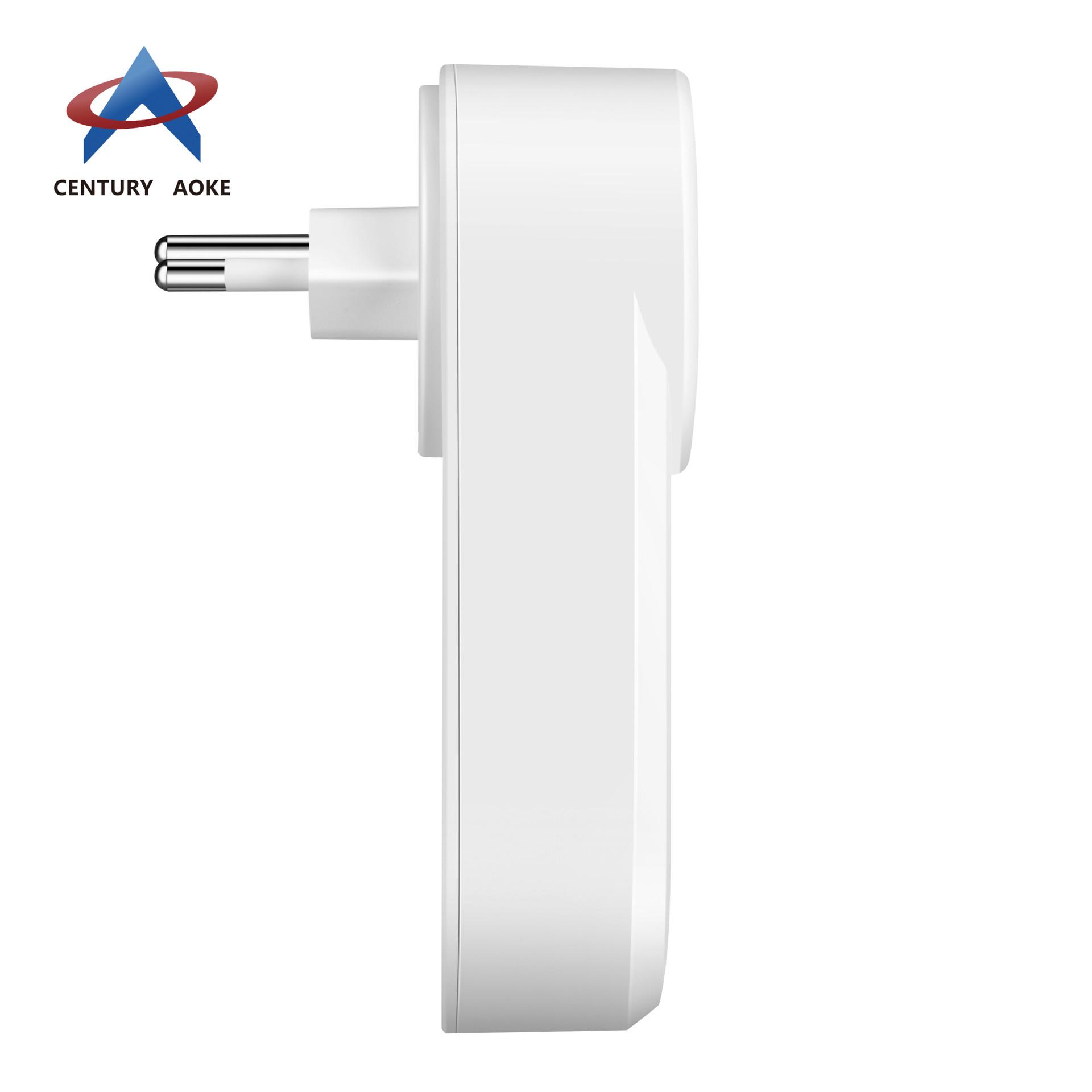 Brazilian socket wifi smart socket outlet AK-P51W-04F