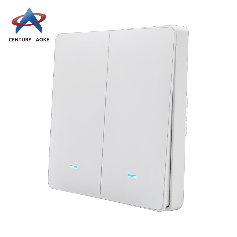Two light wireless touch switch AK-PS12-01F