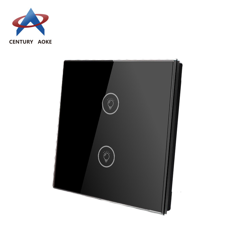 Two touch panel swtich AK-PS02-01F
