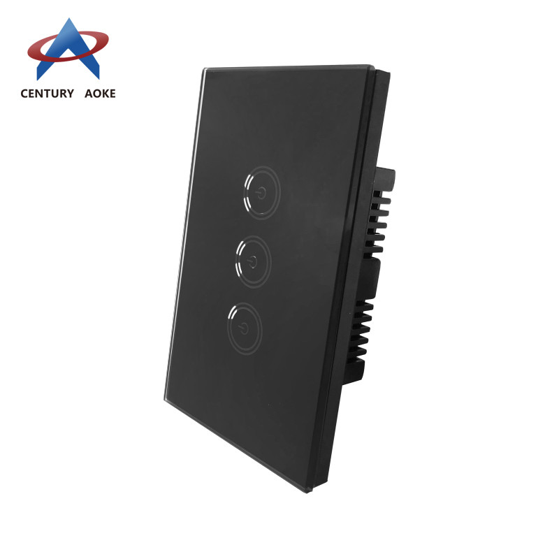 Three touch light switch dimmer AK-PS03-11F
