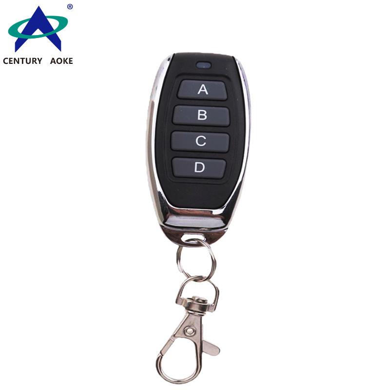 Enhanced type copy metal small pepper 4-key wireless remote control AK-J027