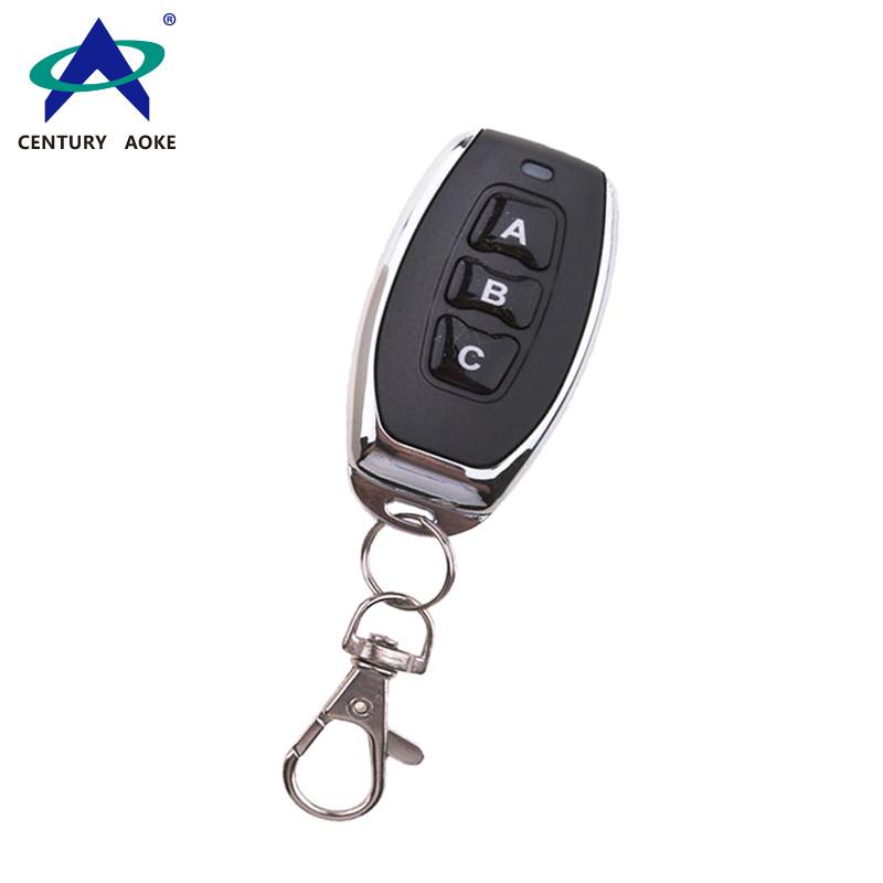 Reinforced metal small pepper 3-key pair copy copy wireless remote control AK-027C
