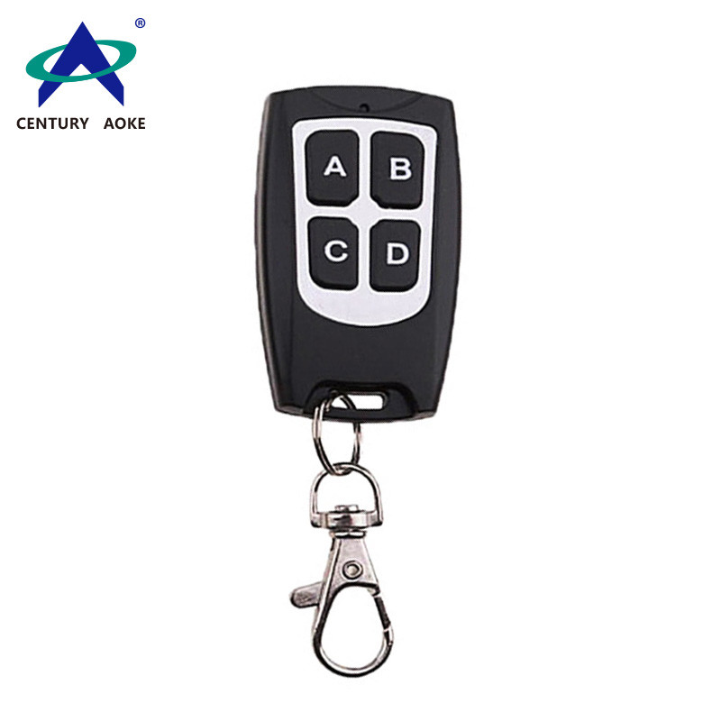 Reinforced waterproof copy type remote control 4-button wireless remote control AK-079A-KB