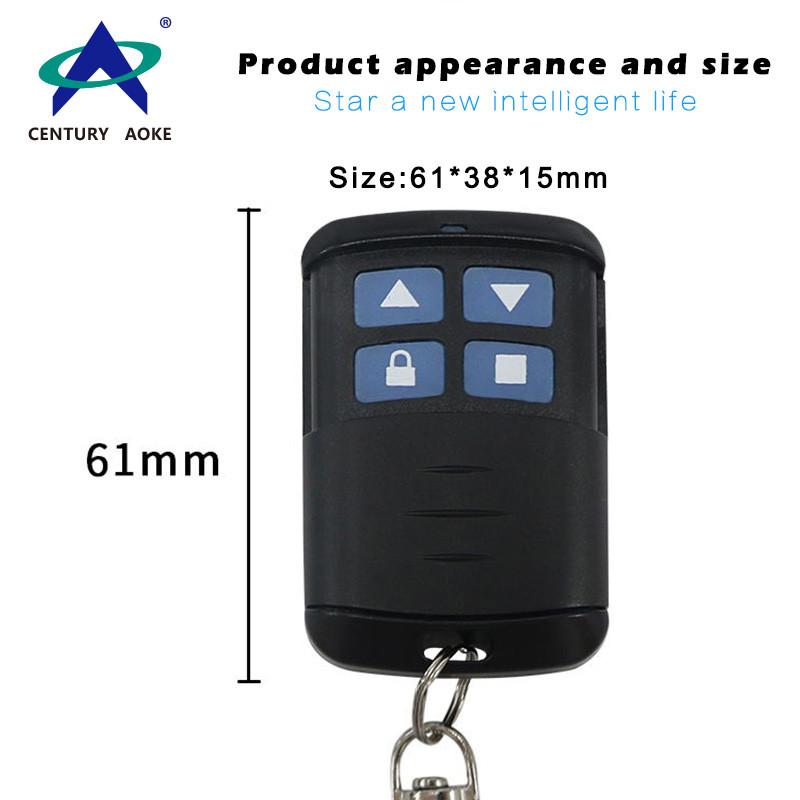Roller shutter door remote  control 4-key duplicator remote control AK-5566TX