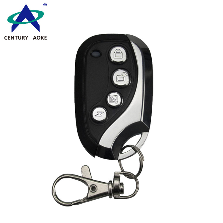 Enhanced copy metal curved 4-key wireless simple remote control KB-079C