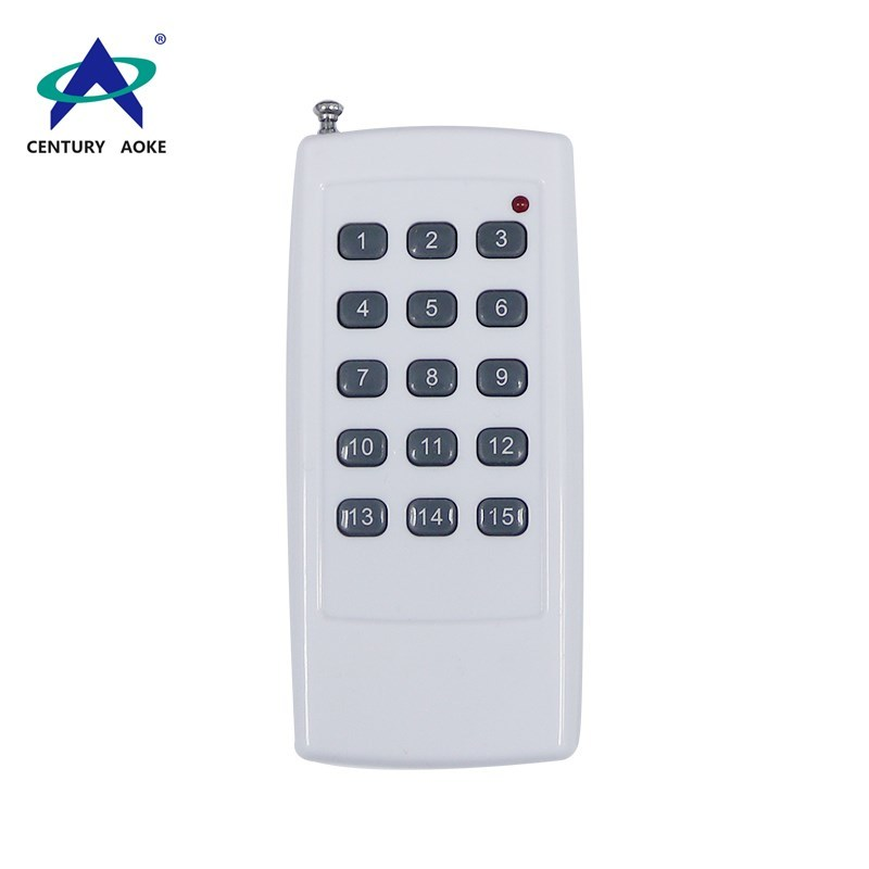 New style 12V 23A 15 buttons 433/315 Mhz remote control with antenna