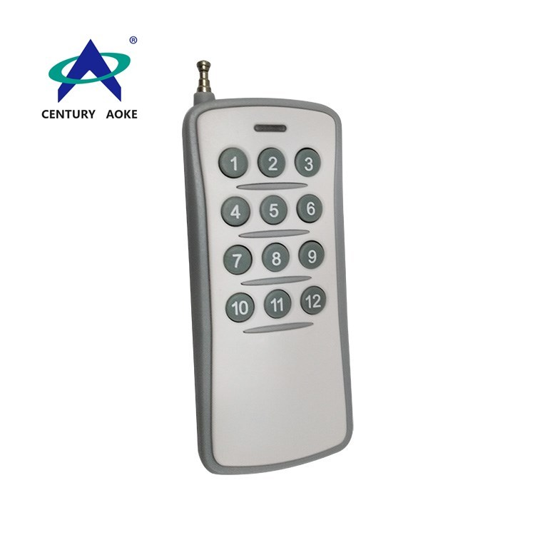 Popular high quality  433/315Mhz 12V 23A 12 buttons rf wireless remote control