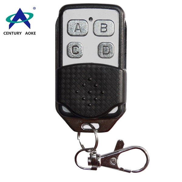 Four-button wireless remote control AK-090 with metal push cover