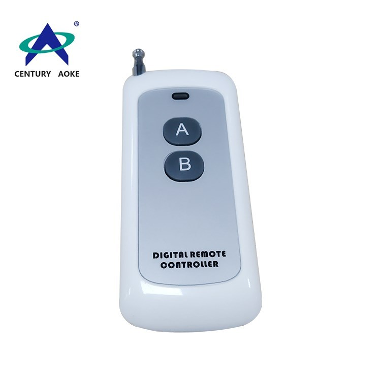 433Mhz/315Mhz 1000 meters 2 buttons Ultra-thin sticker RF wireless remote control