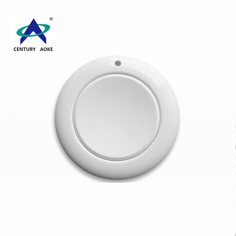 433Mhz/315Mhz plastic shell one button RF wireless security alarm remote control