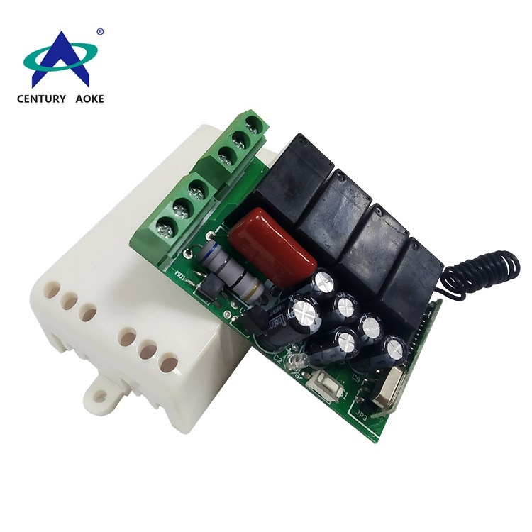 AC180-250V four channels small size industrial remote controller