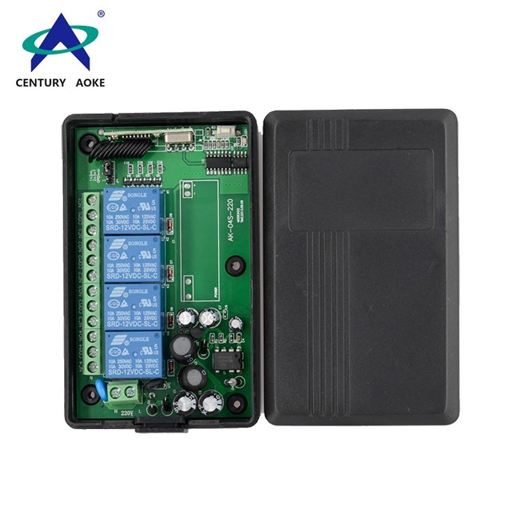 Aoke universal wireless remote controller company used in electric screens