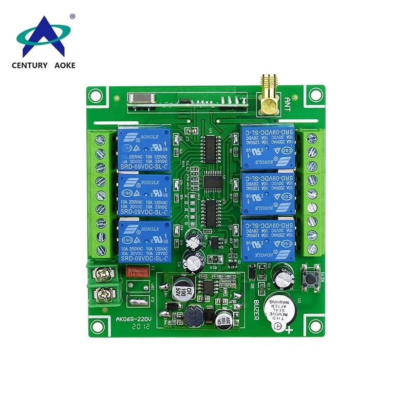 DC12~36 V 6 channels industrial controller