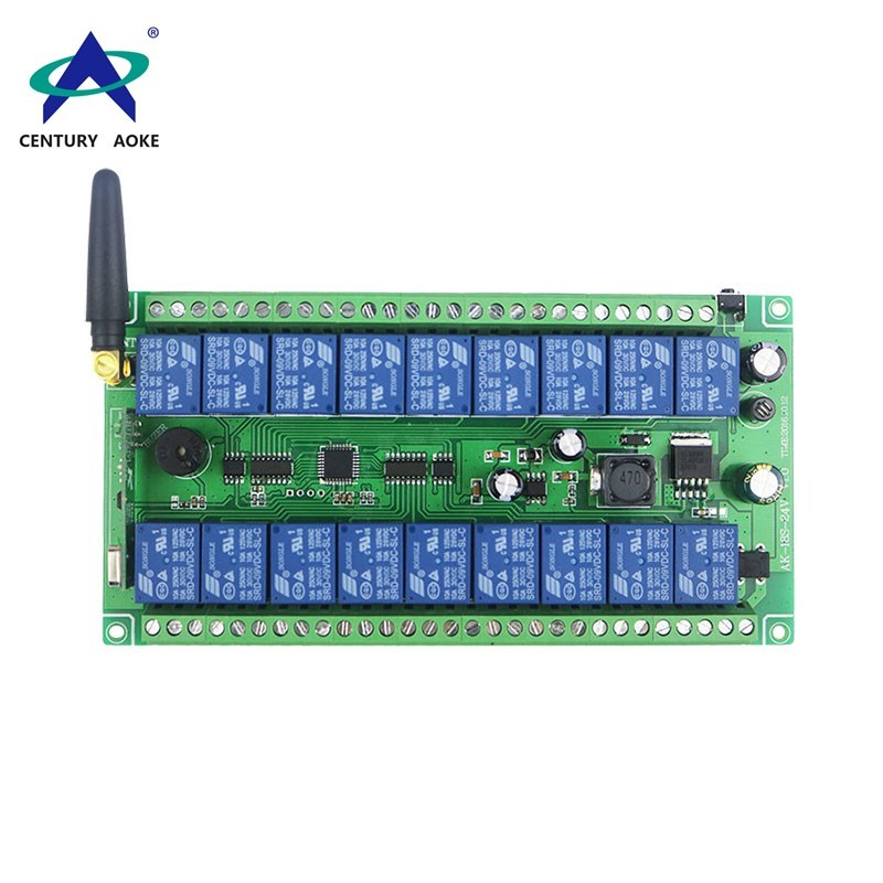 Aoke wireless remote motor controller supply used in electric screens