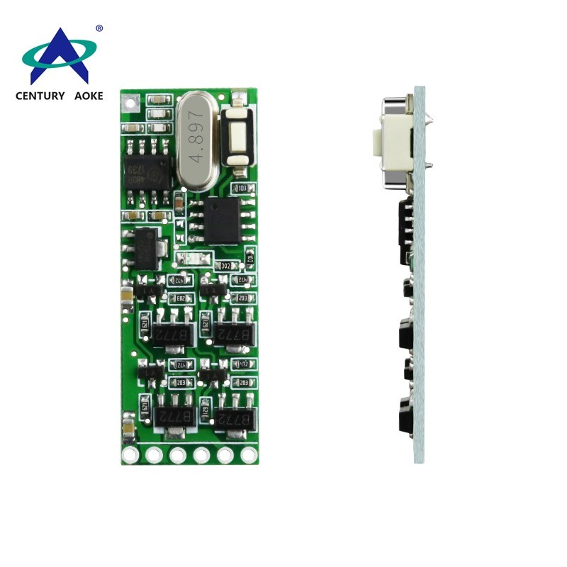 DC5~12V 4 channels level output control module for communication instrument, testing instrument power control module