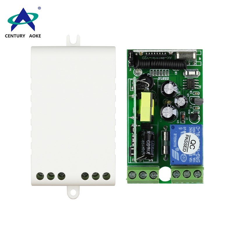 AC85~250V 1 Channel Wide Voltage Wireless Controller For Lamp, Motor And Electric Door