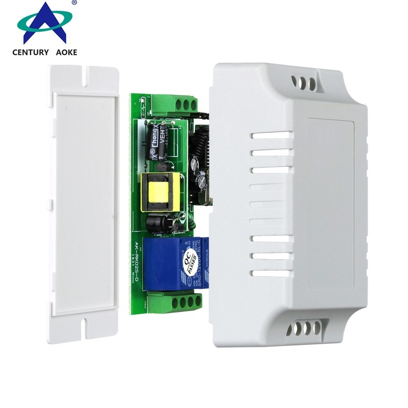 Aoke high quality 220 volts wireless remote control switch design used in electric doors