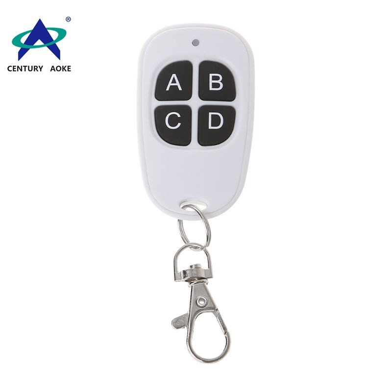 Best price white egg shape remote 4 buttons 433Mhz/315Mhz remote control