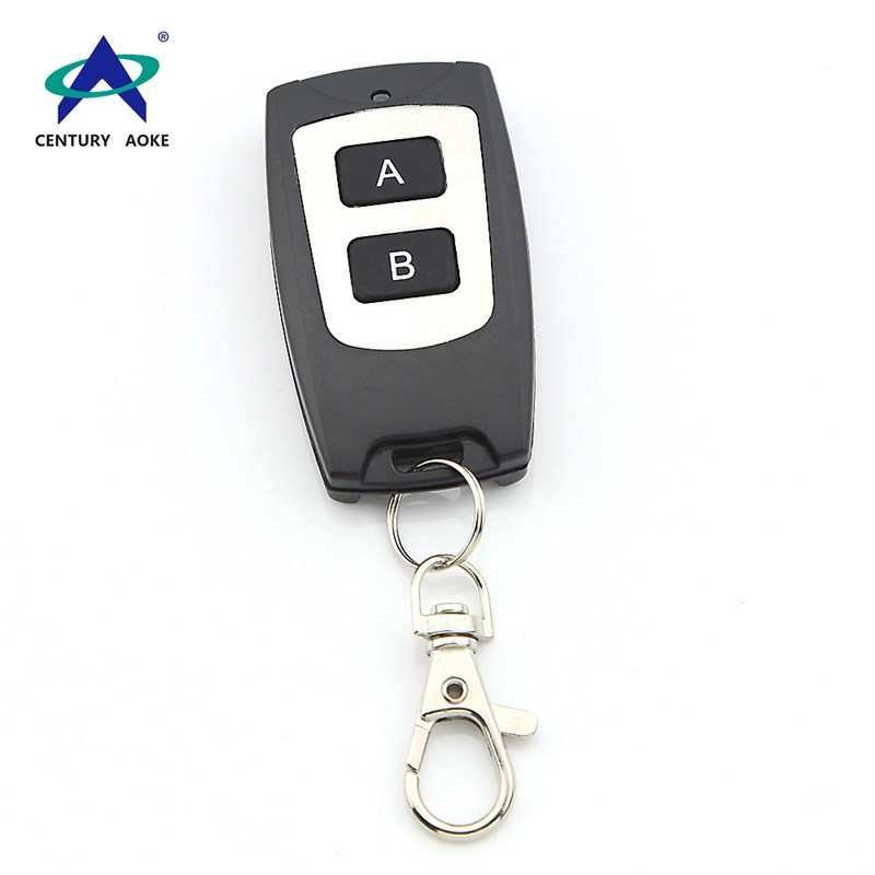 High quality ultra-thin waterproof two buttons wireless remote control AK-CF02