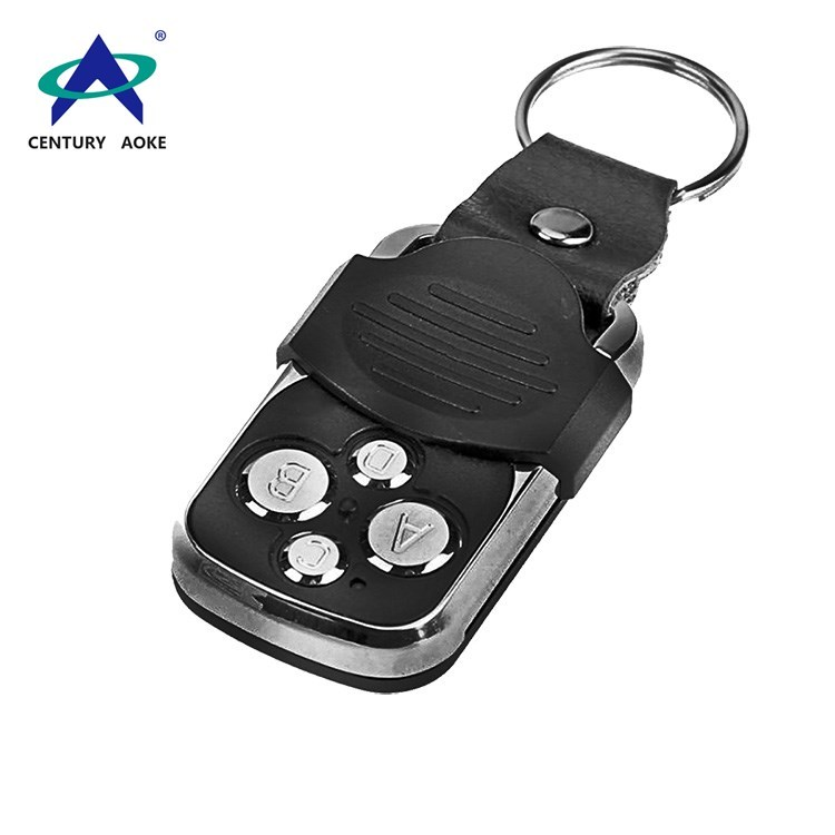 Intelligent copy type belt buckle plastic cover four buttons wireless remote control