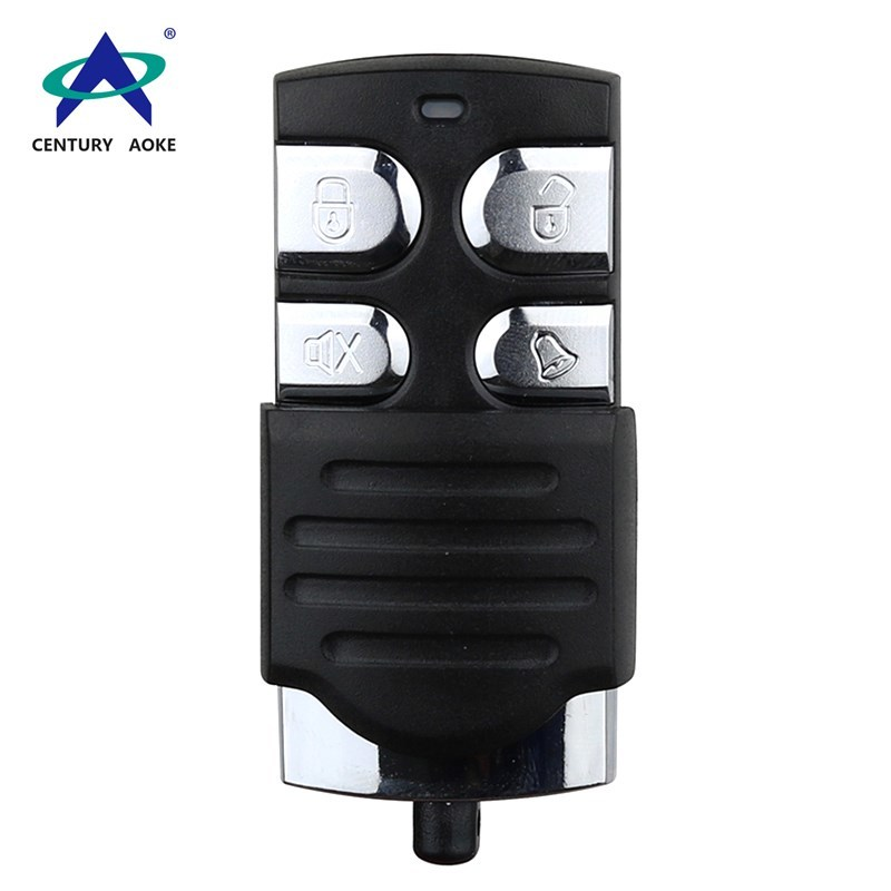 New design four buttons 433 Mhz/315Mhz copy type remote control for car alarms, home alarms, garage doors