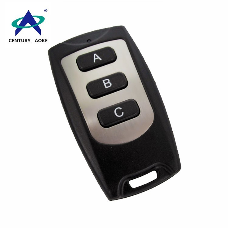 New ultra-thin waterproof three-button wireless remote control AK-CF03