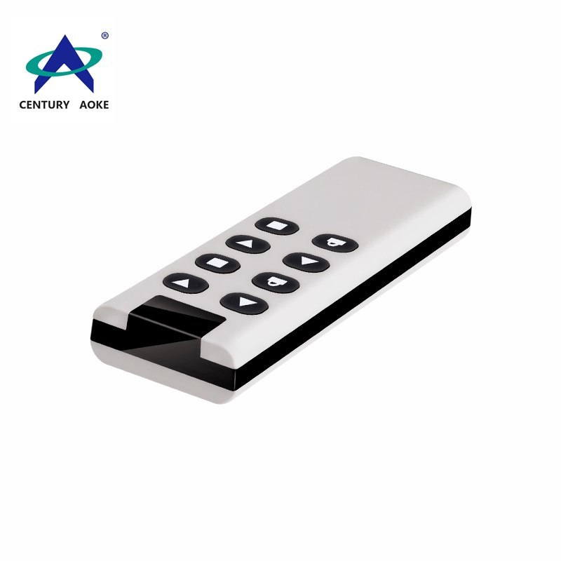 315Mhz/ 433Mhz dark red bordered high power wireless remote control