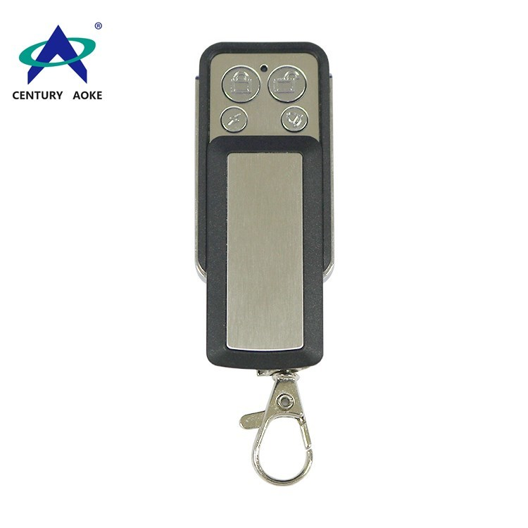 Metal four-button copy type remote control with sliding cover