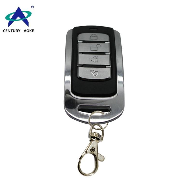 Metal high-grade frame remote four buttons remote control