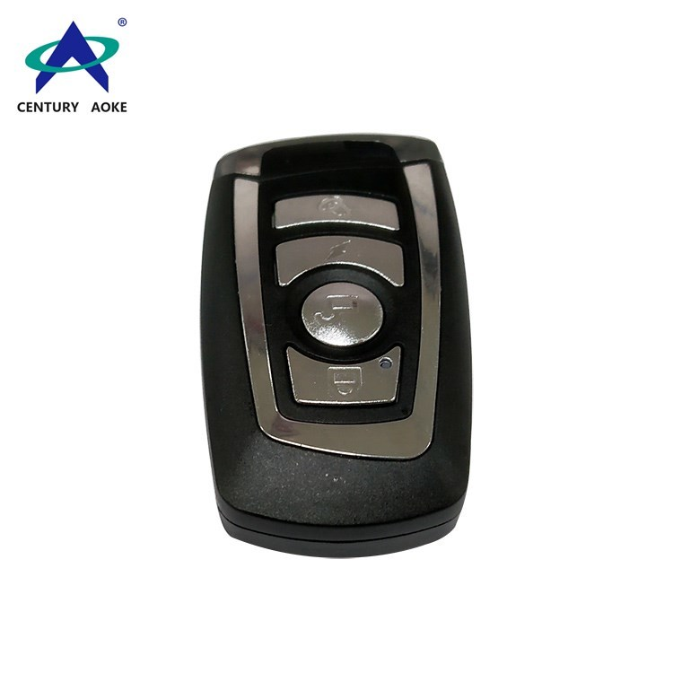 Metal shell copy type four buttons wireless remote contrrol