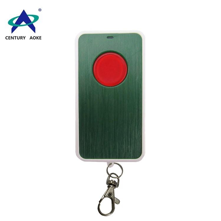 433Mhz/315Mhz one button wireless remote control with keychain