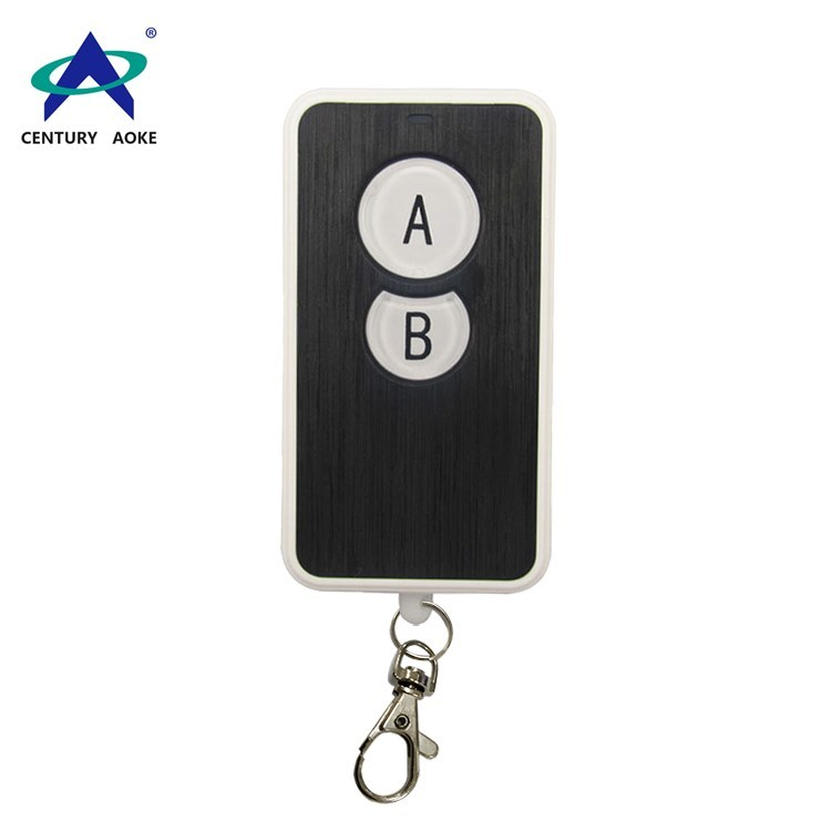 433Mhz/315Mhz two buttons wireless remote control with keychain