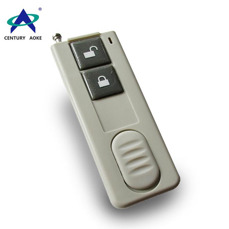 Ultra-thin two buttons wireless remote control AK-CBF-2
