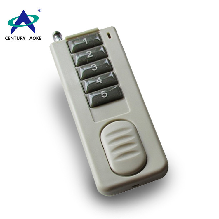 Ultra-thin five buttons wireless remote control AK-CBF-5