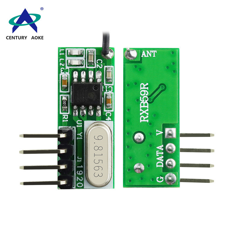 Superheterodyne receiver module 315/433 Mhz wireless module