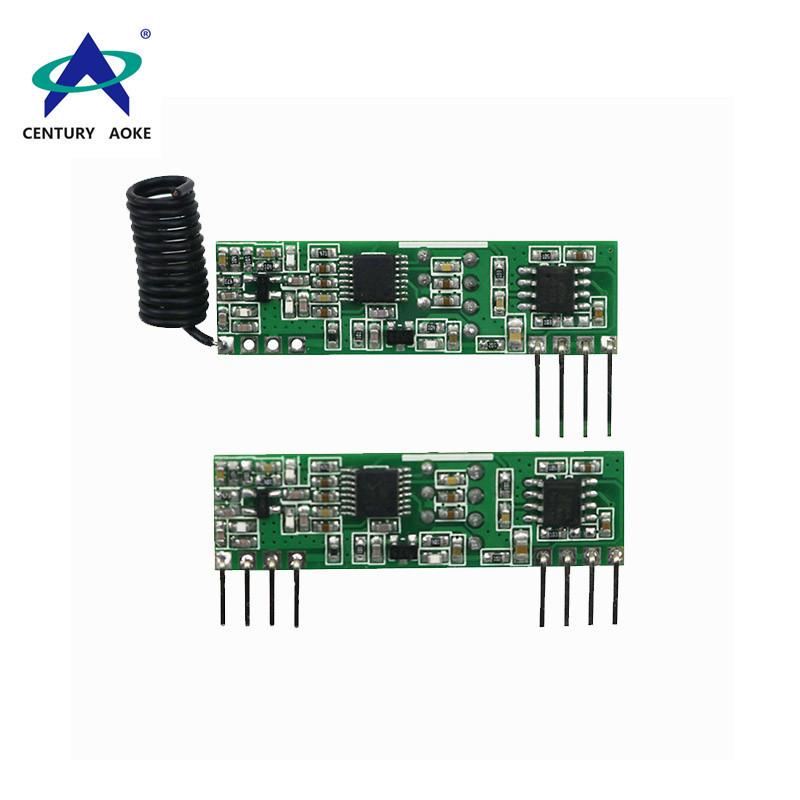 New superheterodyne wireless receiver module