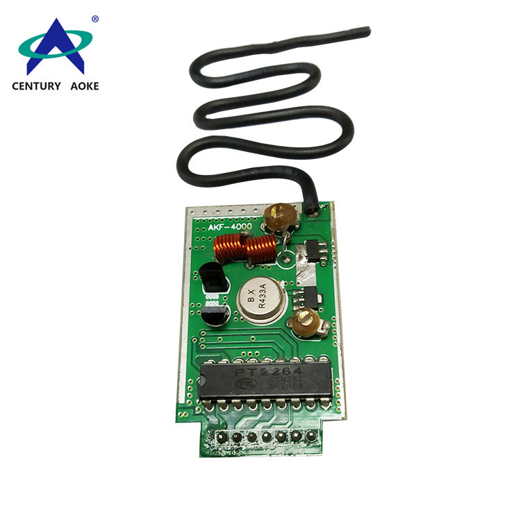 Wireless transmitter module with decoding