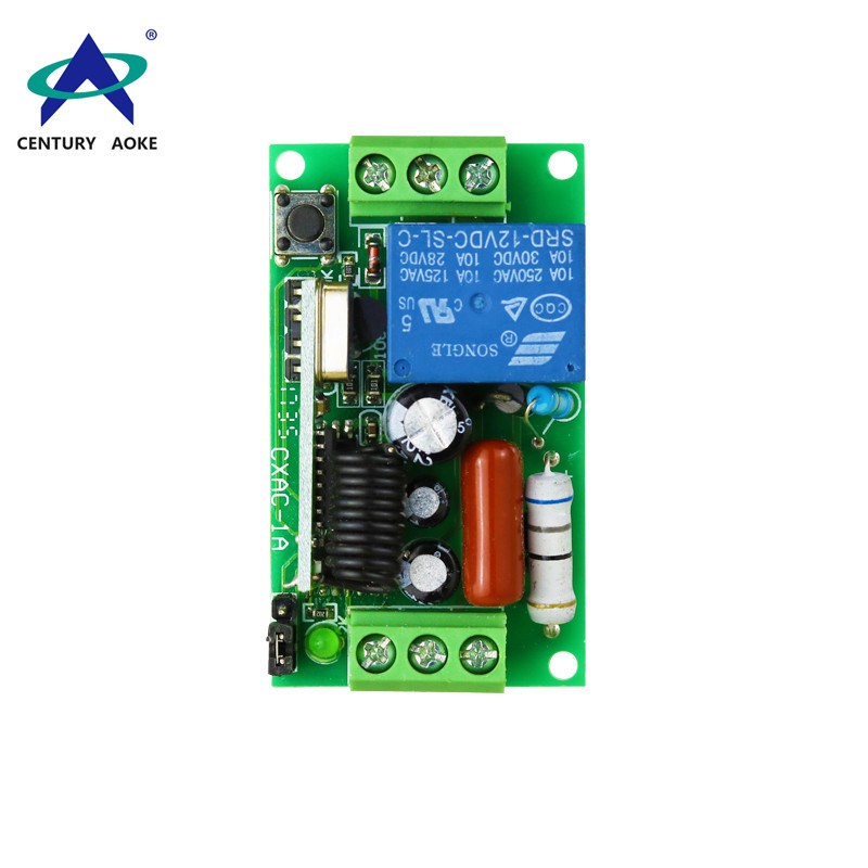 AC180-240V Learning type two-end wiring single-channel remote control switch