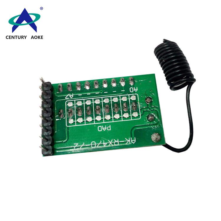 2272 Superheterodyne receiver module with decoding