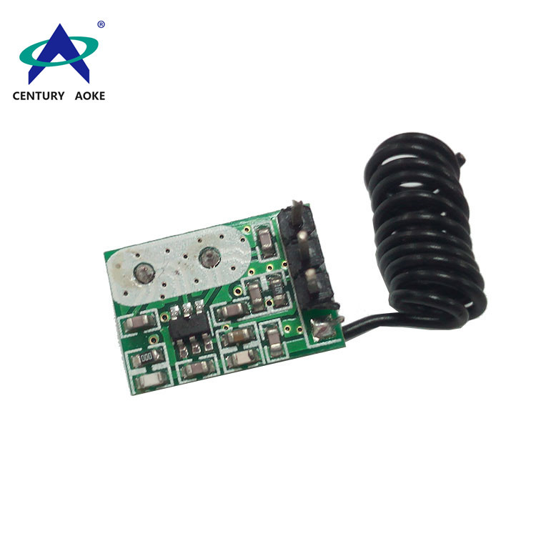 868M small size low voltage wireless transmitter module AK-FST05