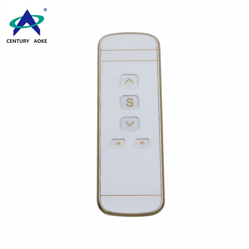 Five-button electric curtain remote control