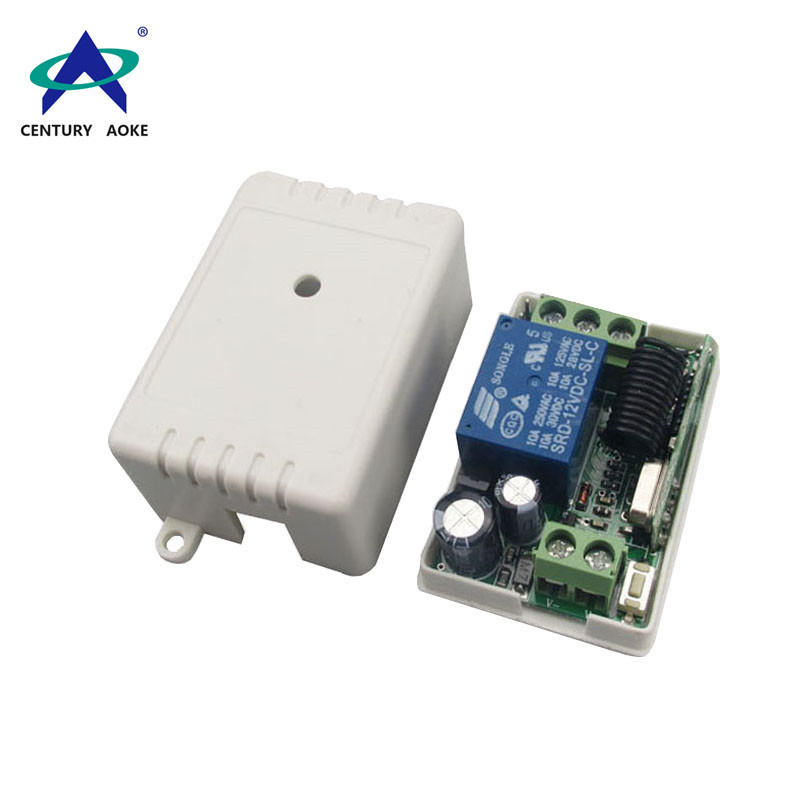 DC 12V one channel learning type wireless remote controller AK-JGZ-PC1L