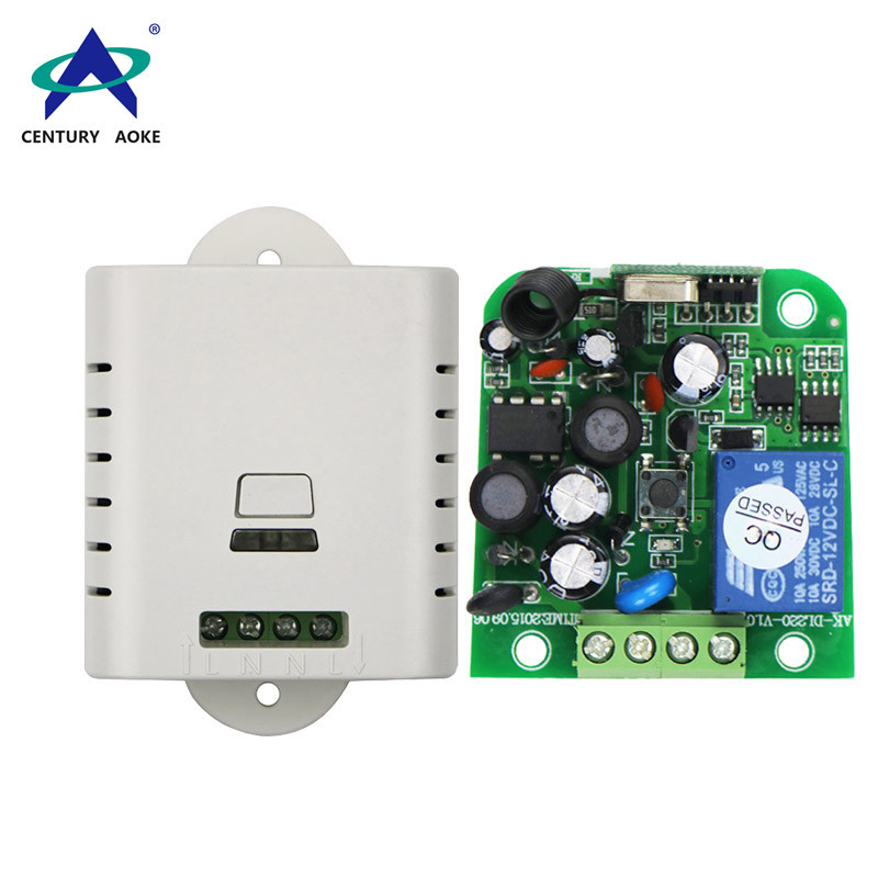 AC 80-260V one channel multifunctional wide voltage learning type remote controller
