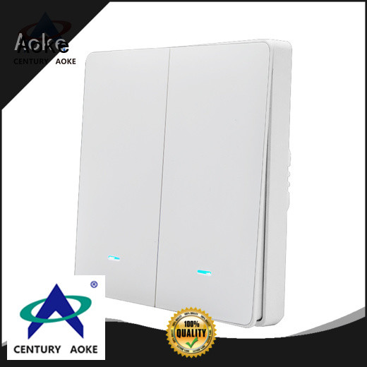 Aoke touch sensor light switch factory direct supply for home use