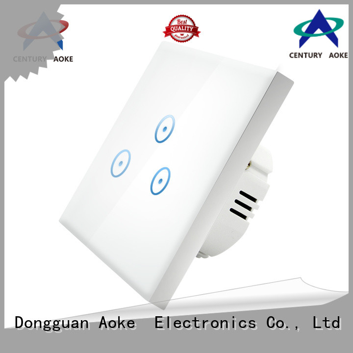 Aoke creative touch panel switch best supplier for better life
