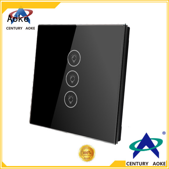 Aoke reliable touch light switch company for convenience