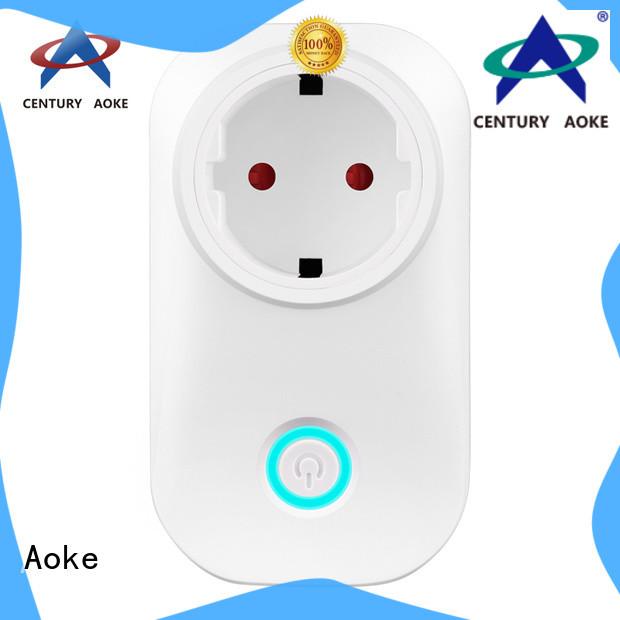 Aoke wifi light socket best manufacturer usedfor smart home security