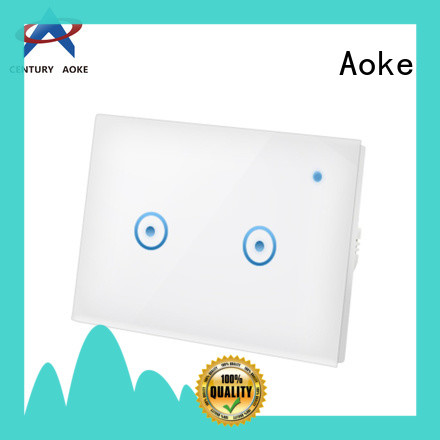 Aoke smart home light switch design for home use